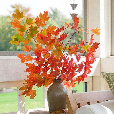 Autumn leaves bouqet