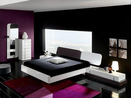 Bedroom pop of color