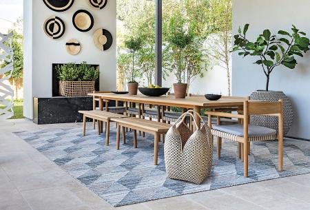 Outdoor kitchen stark area rugs